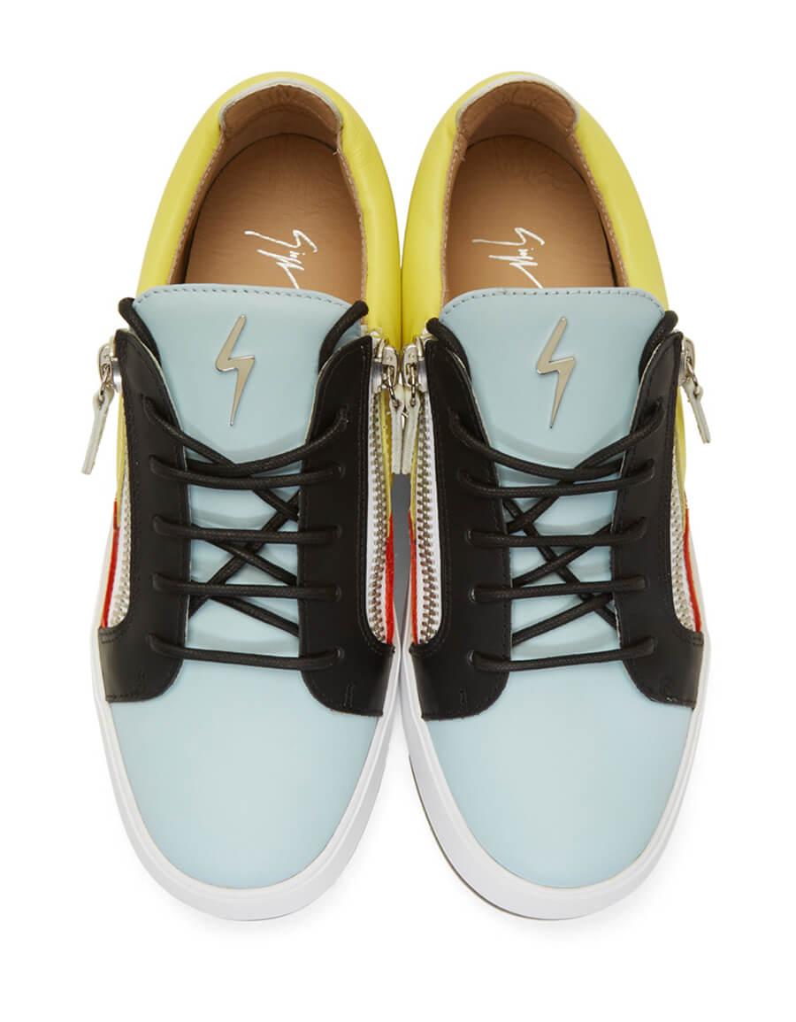 GIUSEPPE ZANOTTI Multicolor Frankie Sneakers