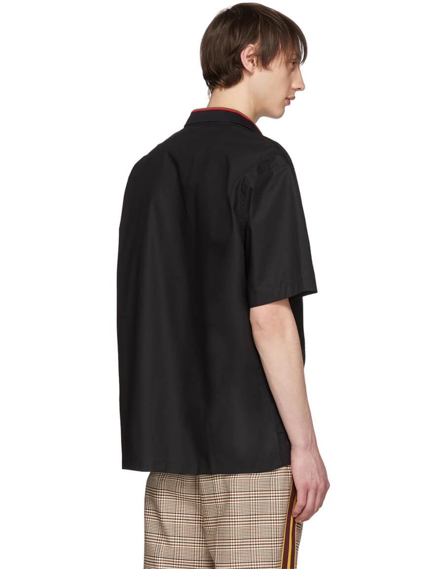 FENDI Black Popover Shirt
