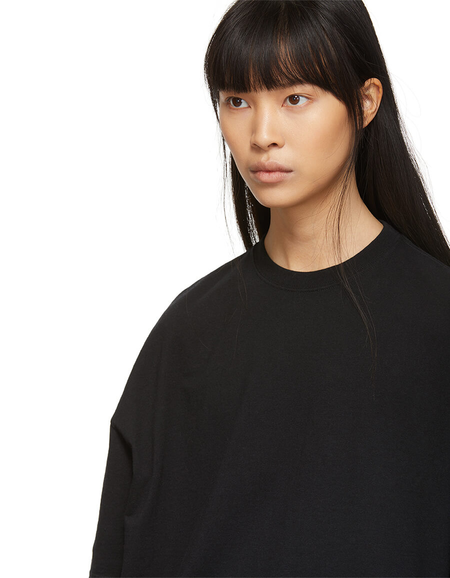 BALENCIAGA Black Tattoo T Shirt