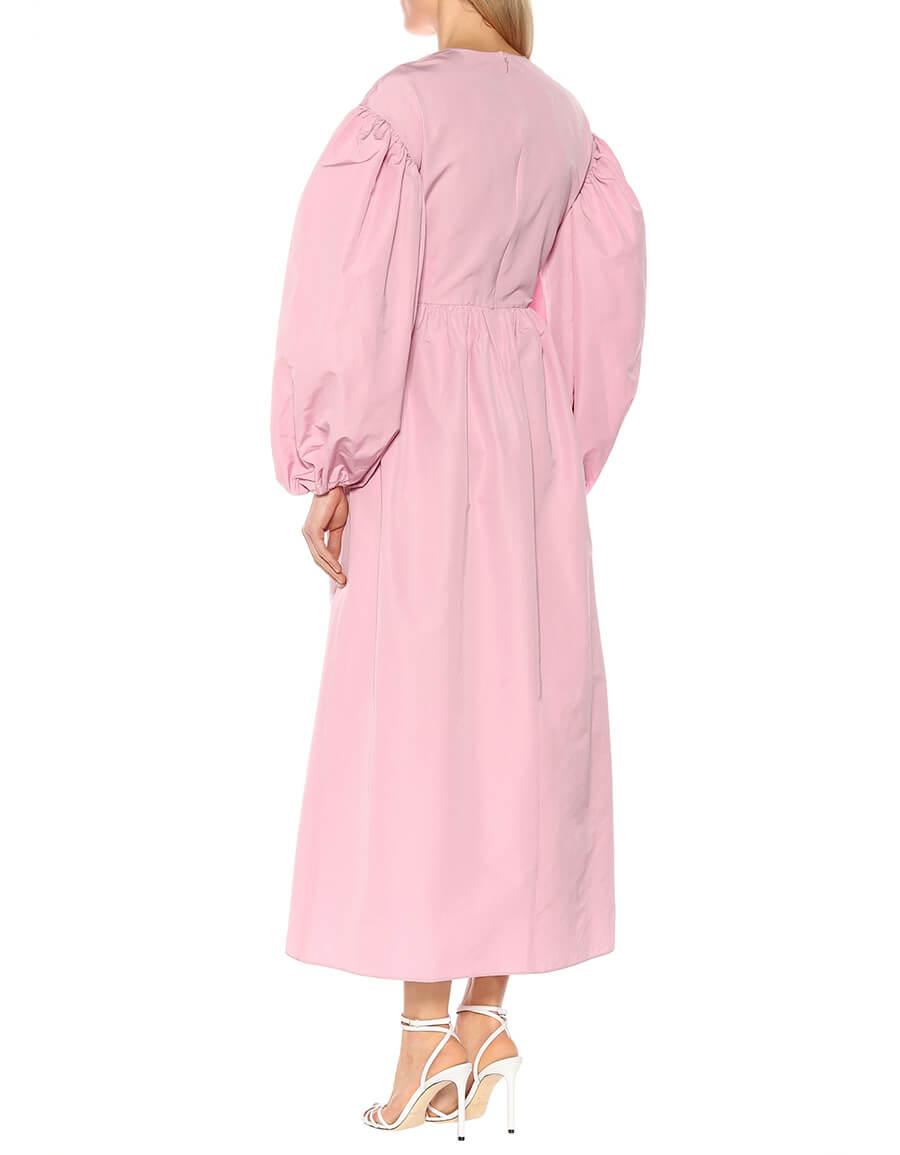 VALENTINO Cotton blend faille dress