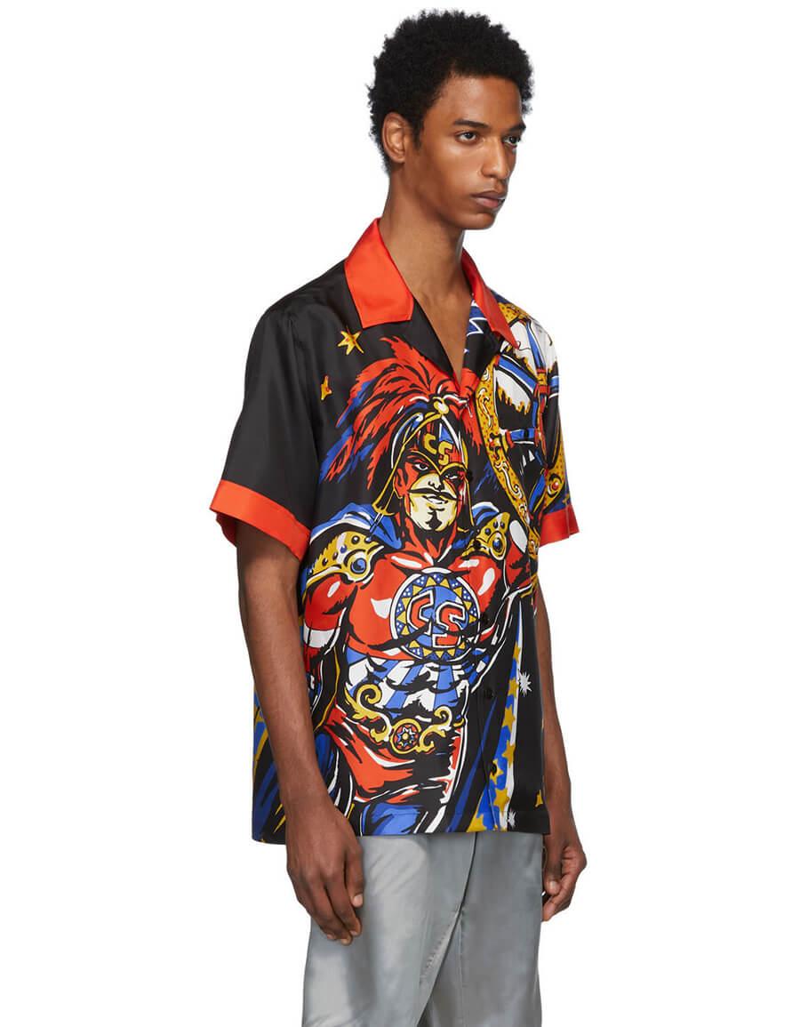 DOLCE & GABBANA Multicolor Captain Sicily Shirt