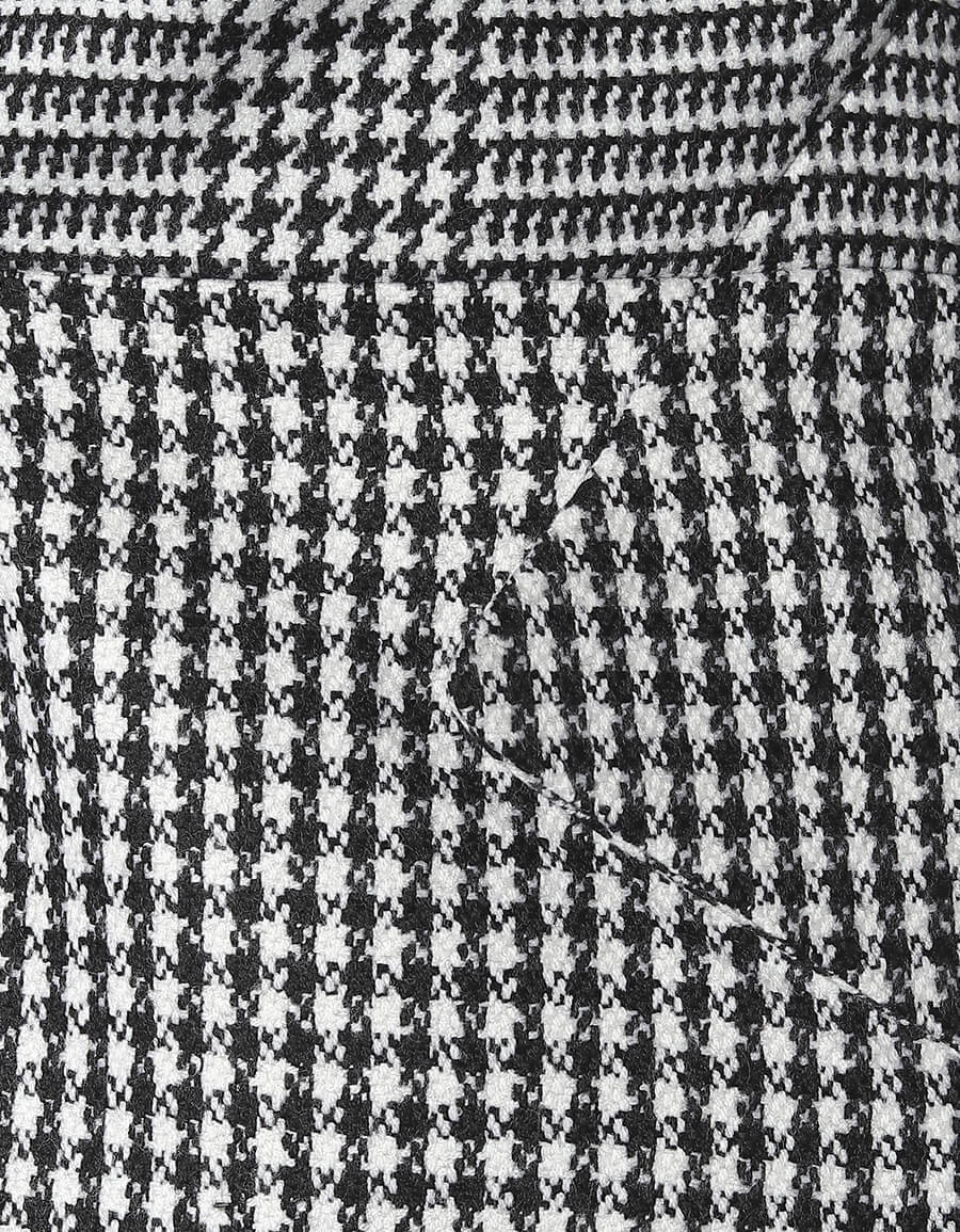ALEXANDER MCQUEEN Houndstooth wool blazer