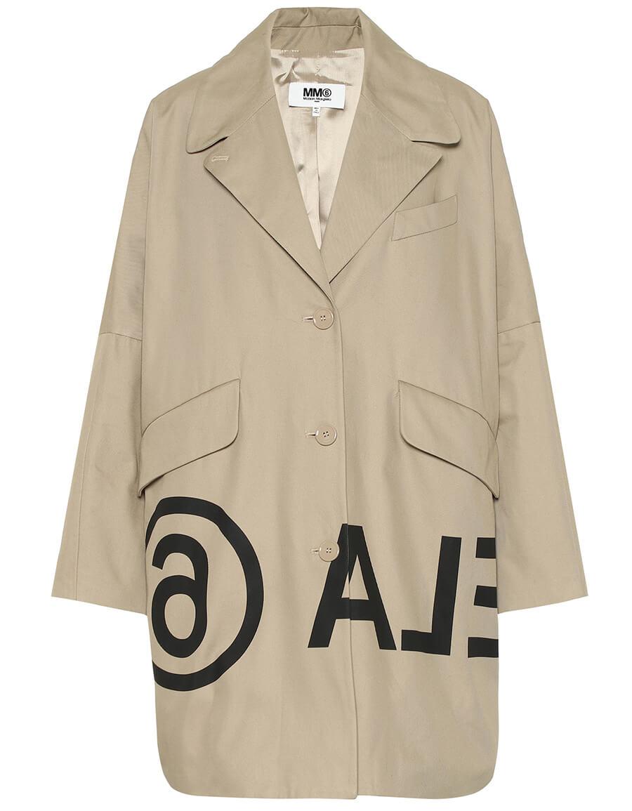 MAISON MARGIELA Printed cotton twill jacket