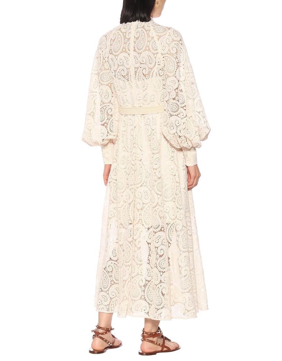 ZIMMERMANN Amari Paisley lace maxi dress