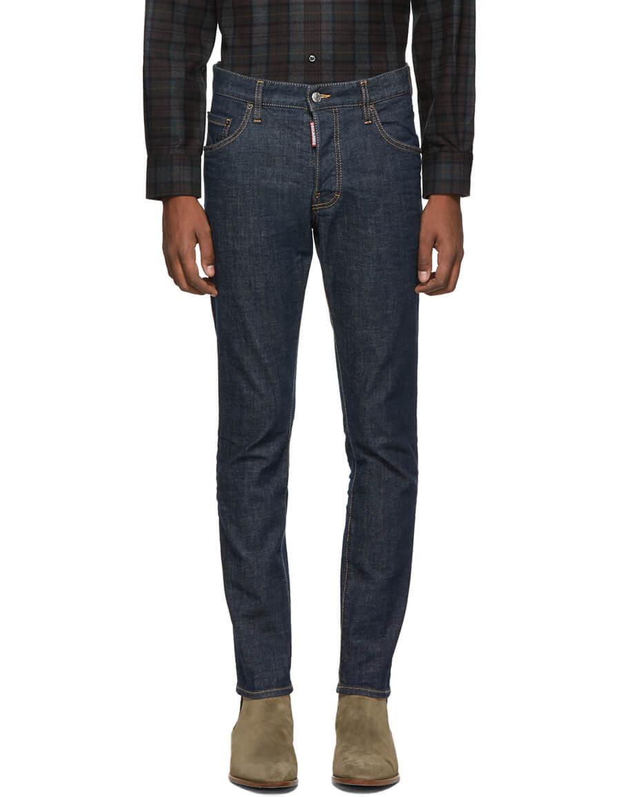 DSQUARED2 Blue Skater Jeans