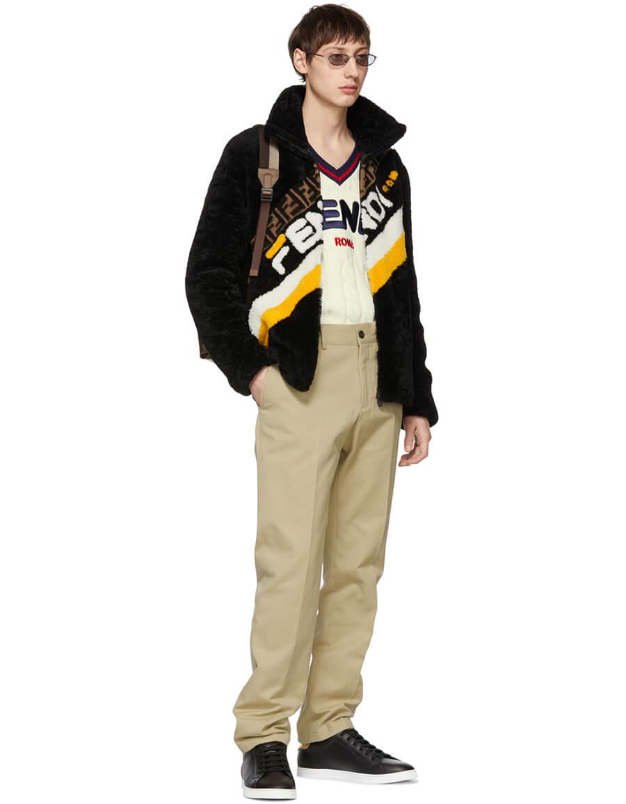 FENDI Brown 'Fendi Mania' Backpack