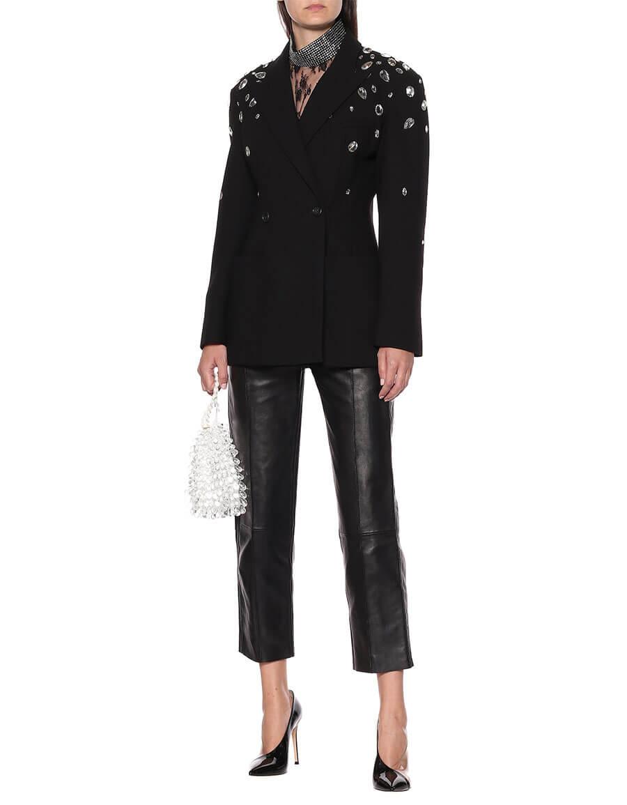 CHRISTOPHER KANE Crystal embellished blazer