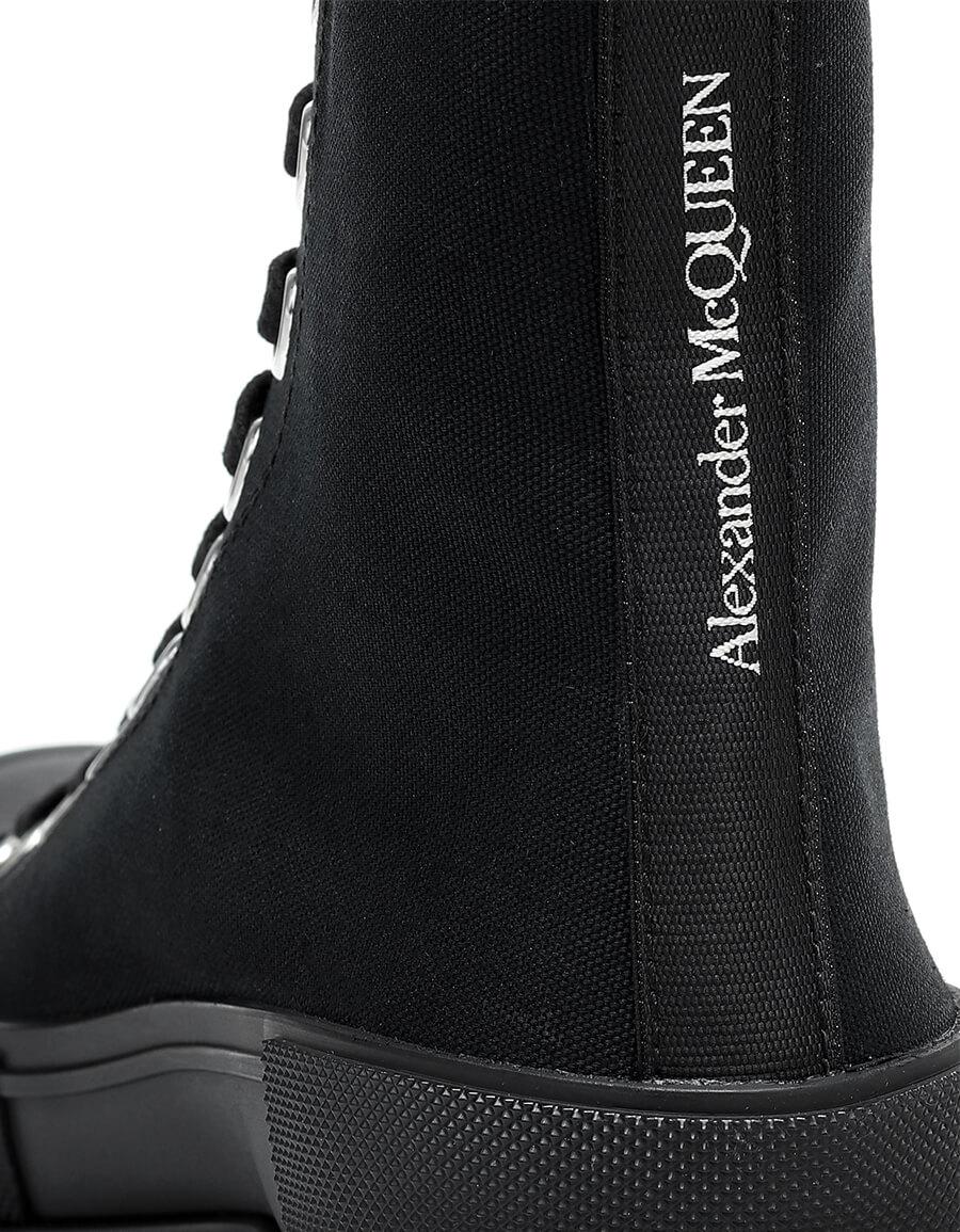 ALEXANDER MCQUEEN Canvas high top sneakers
