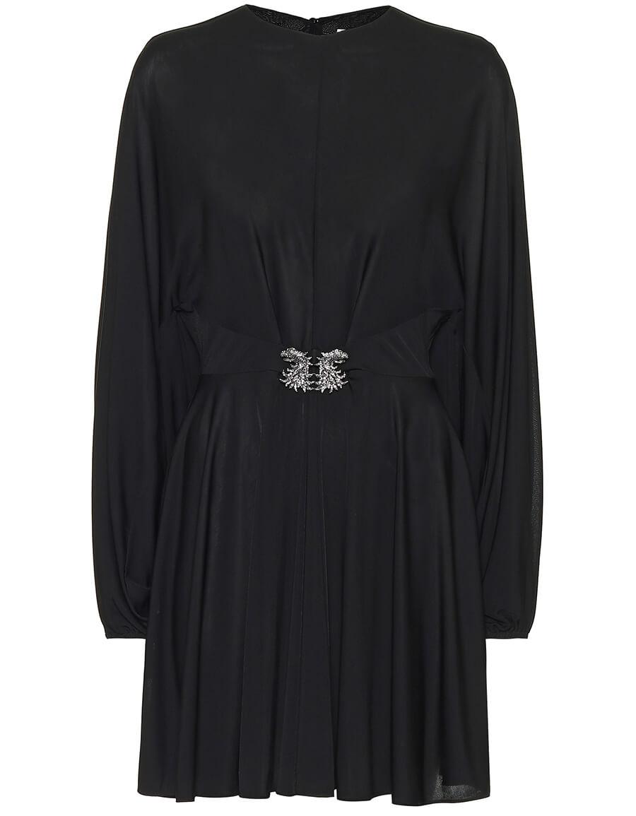 VALENTINO Embellished jersey dress