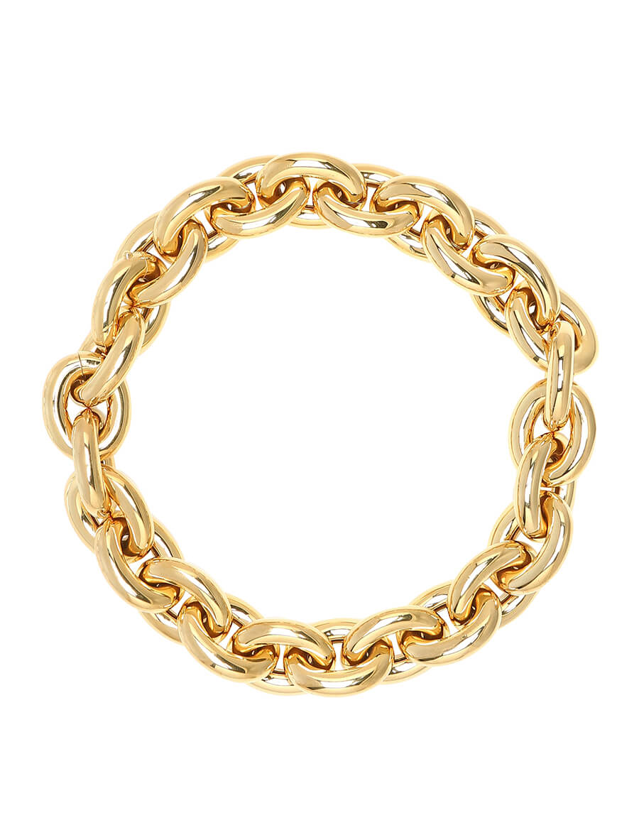 BOTTEGA VENETA 18kt gold plated necklace