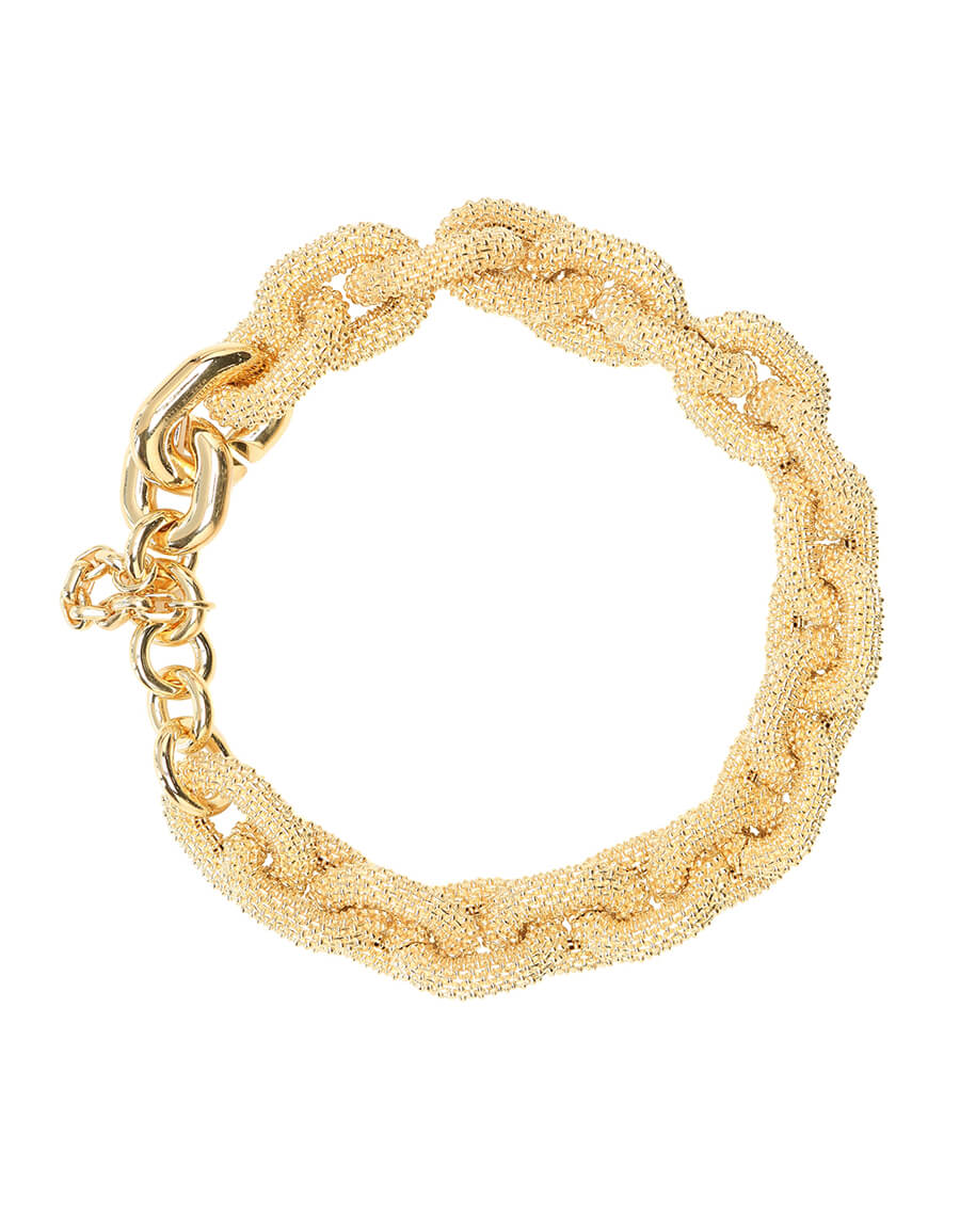 BOTTEGA VENETA 18kt gold plated chain necklace