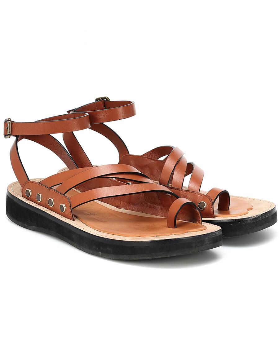LOEWE Leather sandals