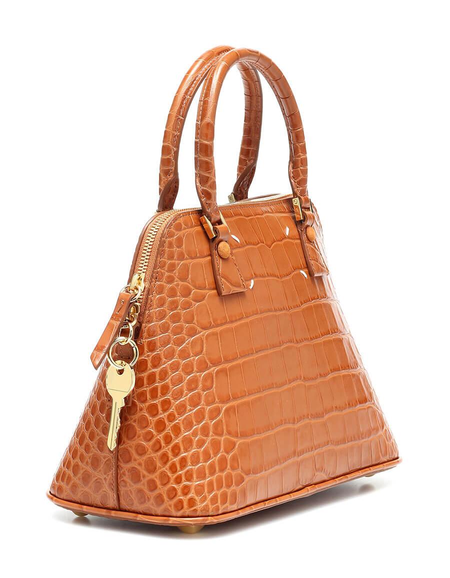 MAISON MARGIELA 5AC Small croc effect leather tote