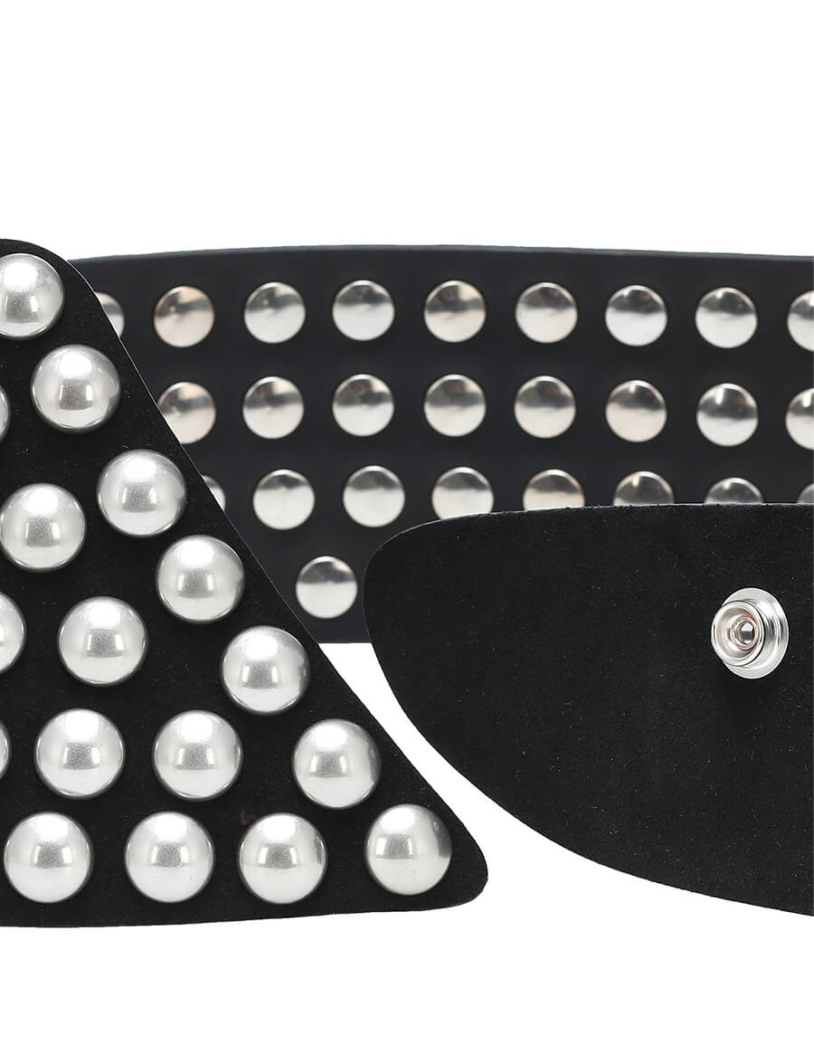 ISABEL MARANT Milda studded leather belt