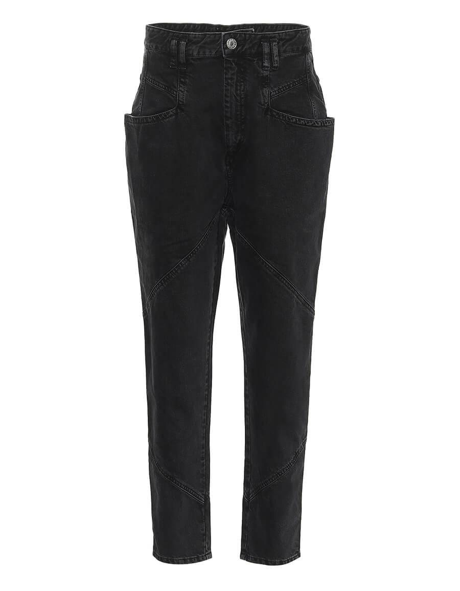 ISABEL MARANT Nadeloisa high rise straight jeans