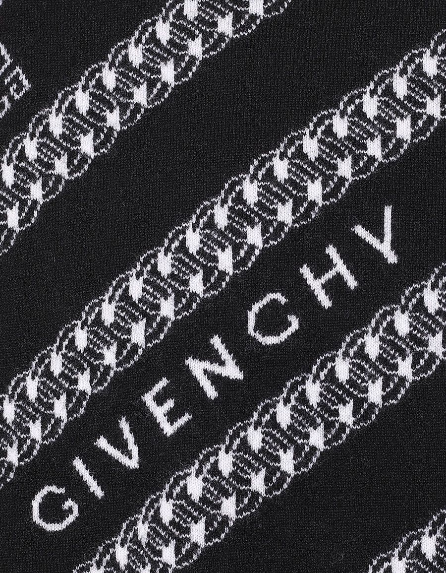 GIVENCHY Logo intarsia wool sweater