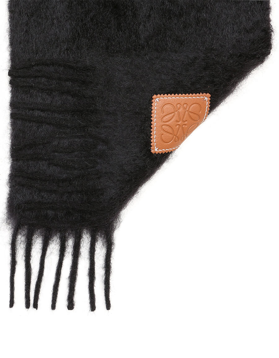 LOEWE Mohair and wool blend scarf
