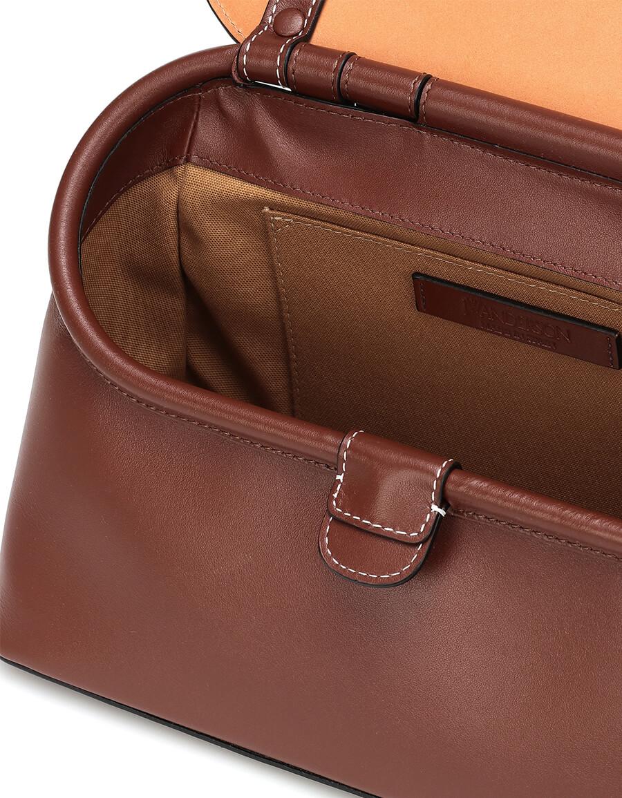 JW ANDERSON Chain Lid leather shoulder bag