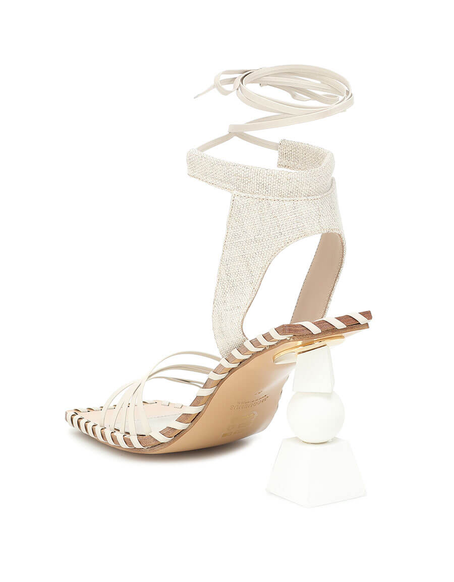 JACQUEMUS Les Sandales Valérie Hautes sandals