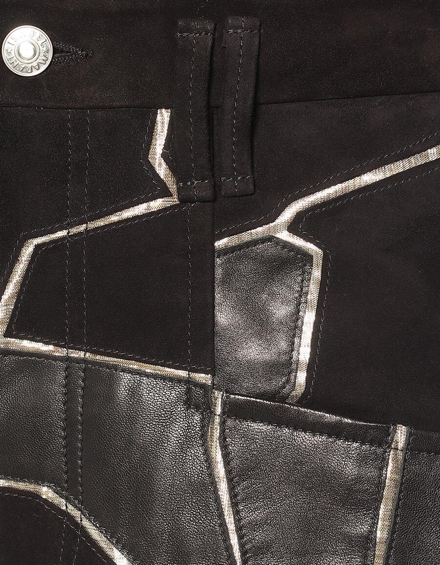 ISABEL MARANT Maeko straight leather pants