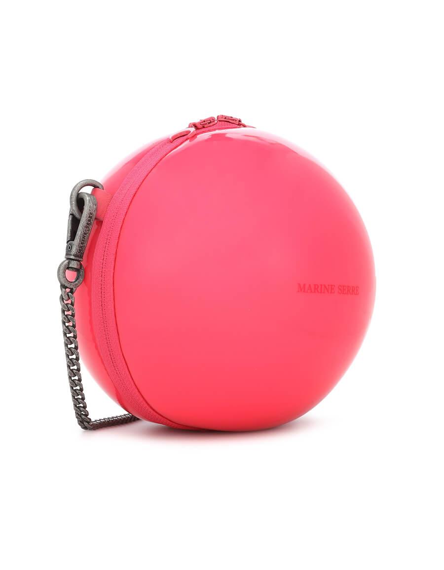 MARINE SERRE Ball Mini PVC shoulder bag