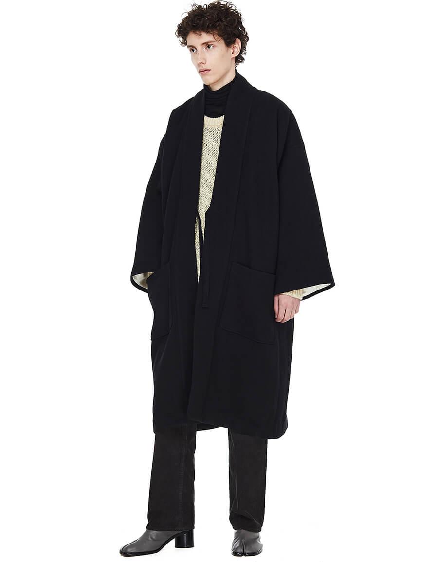 VISVIM Kiyari Oversized Kimoni Style Coat