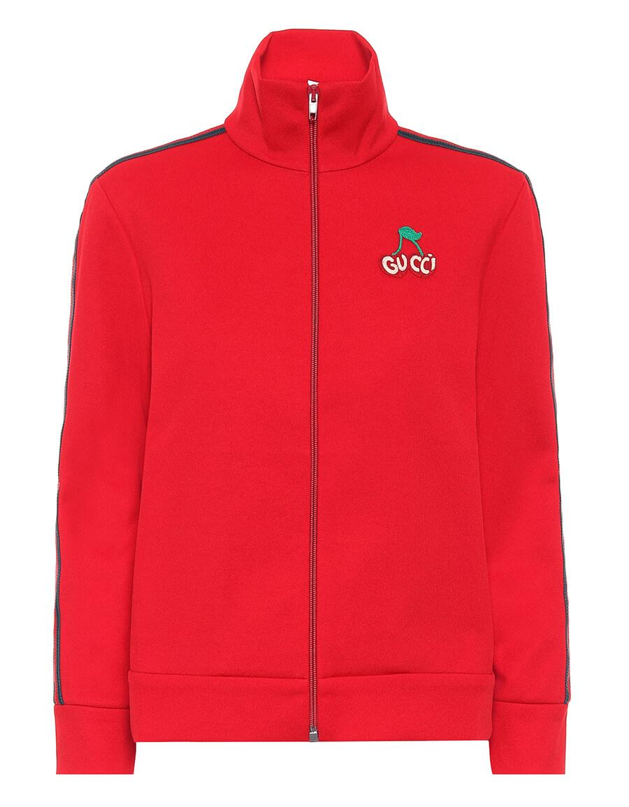 GUCCI Piquet jersey track jacket