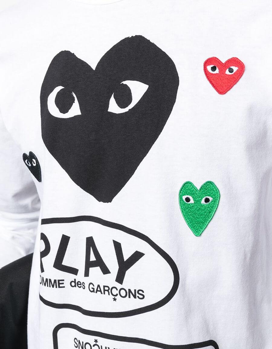 COMME DES GARÇONS PLAY COTTON T SHIRT