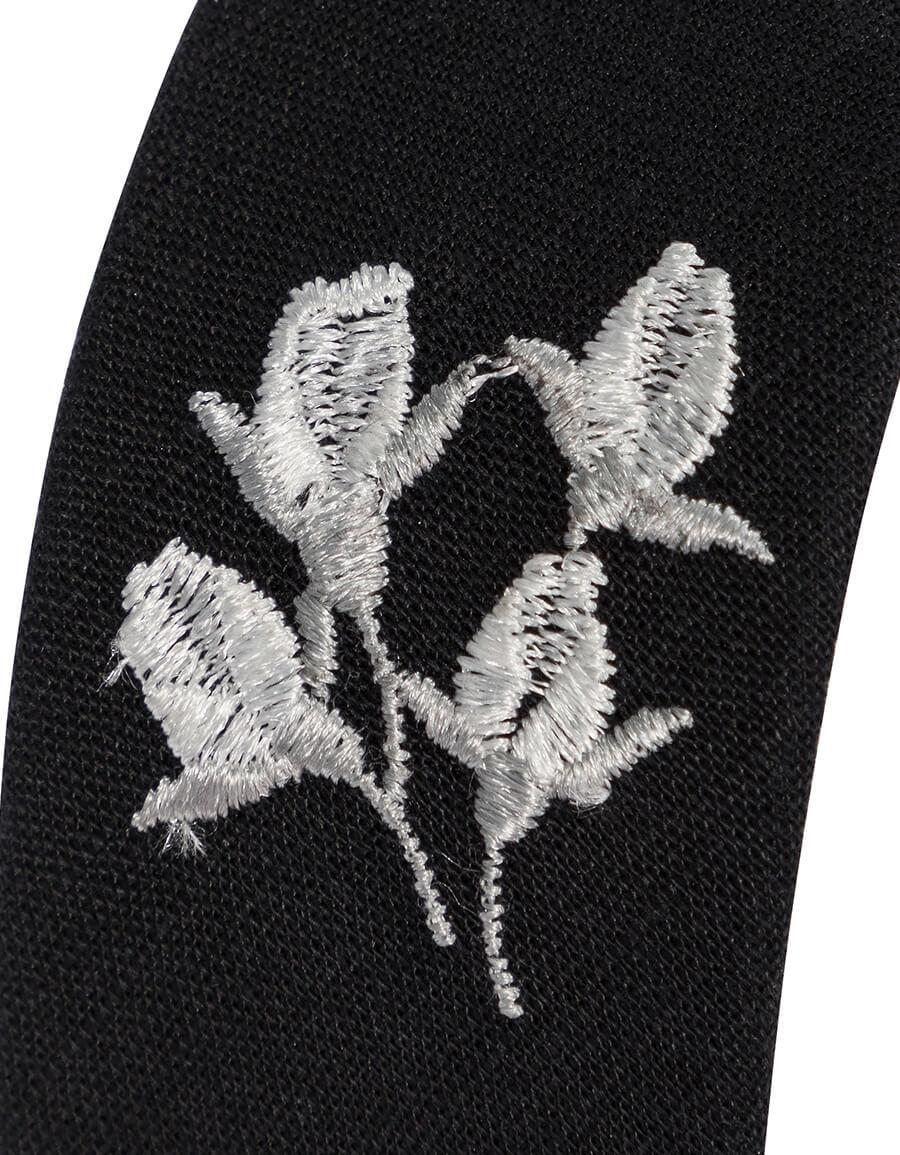 ERDEM Floral embroidered headband