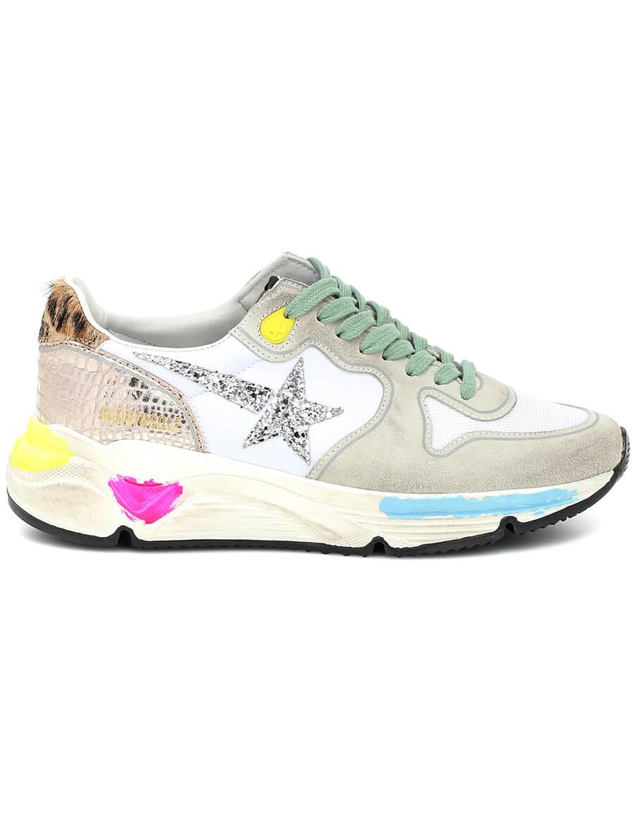 GOLDEN GOOSE Running Sole suede sneakers