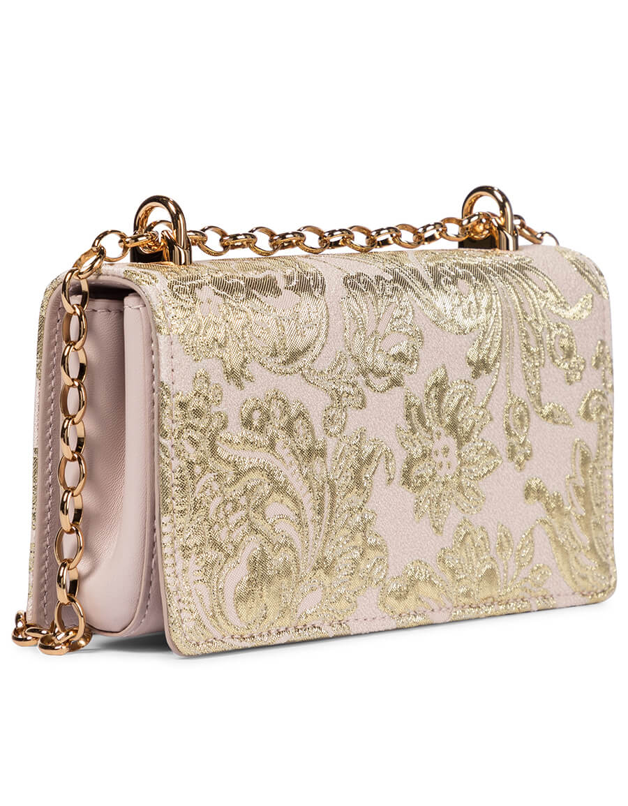 DOLCE & GABBANA DG Girls Small brocade shoulder bag