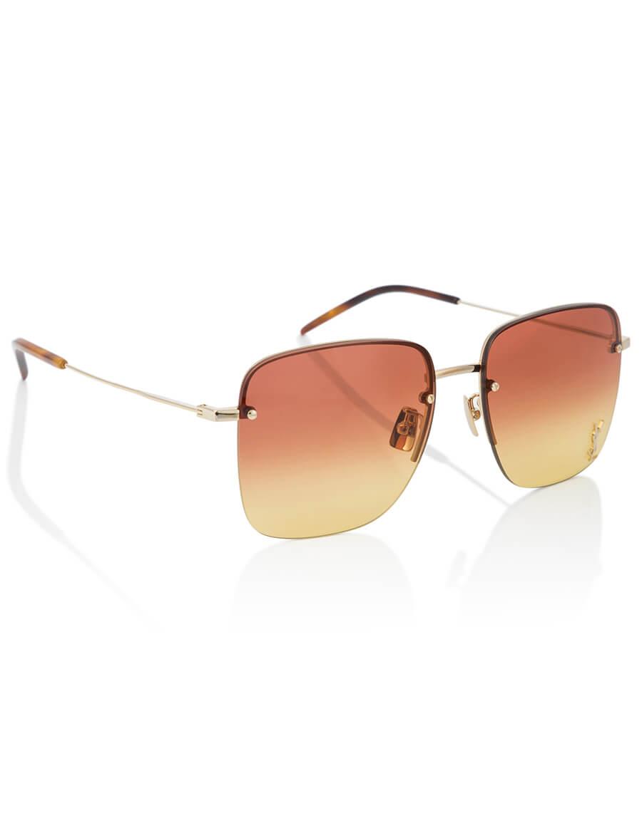 SAINT LAURENT Monogram SL 312 aviator sunglasses