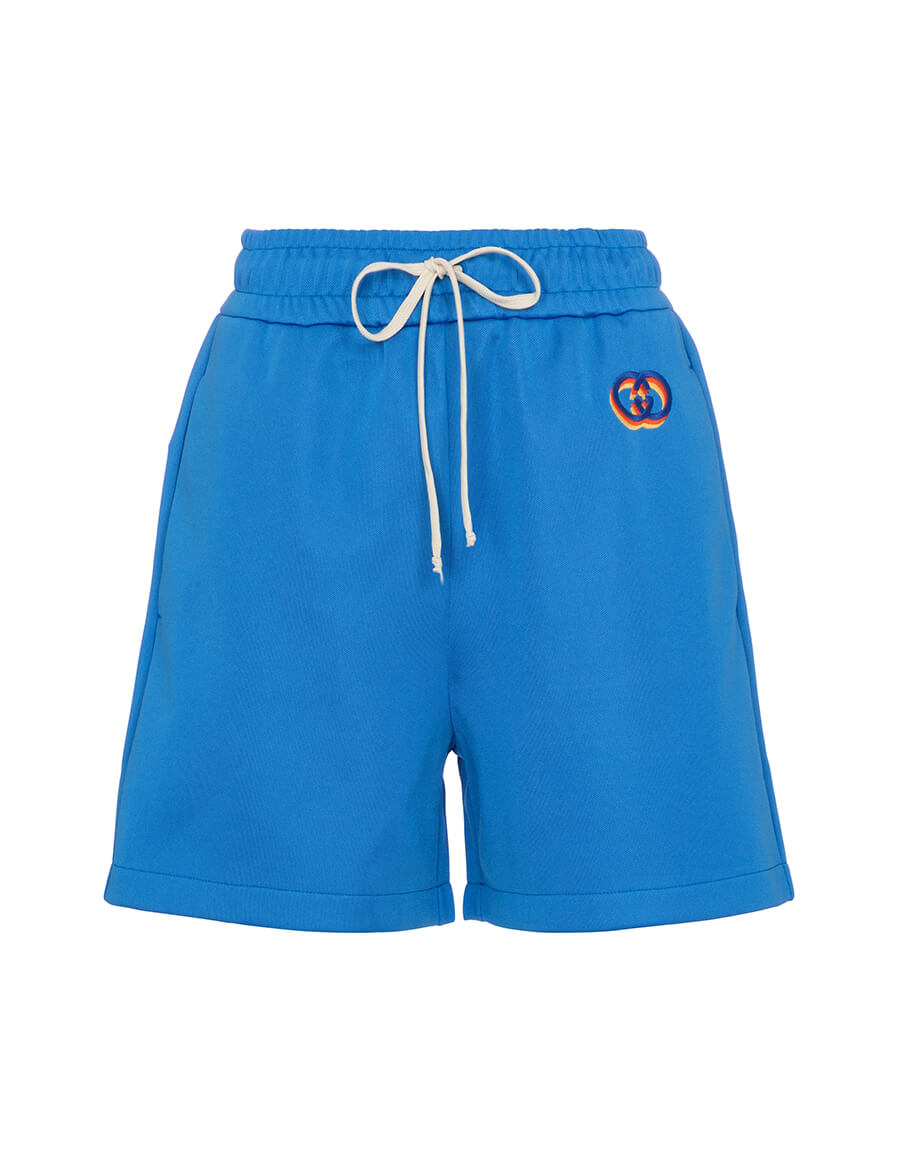 GUCCI Jersey track shorts