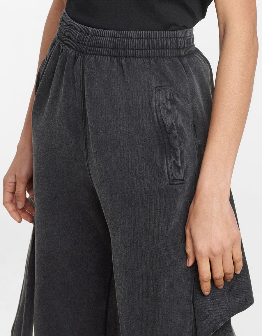 BALENCIAGA Organic cotton fleece sweatpants