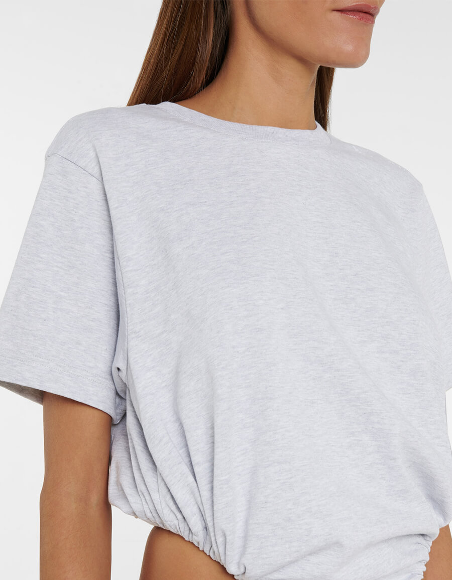 Y/PROJECT Drawstring cotton T shirt