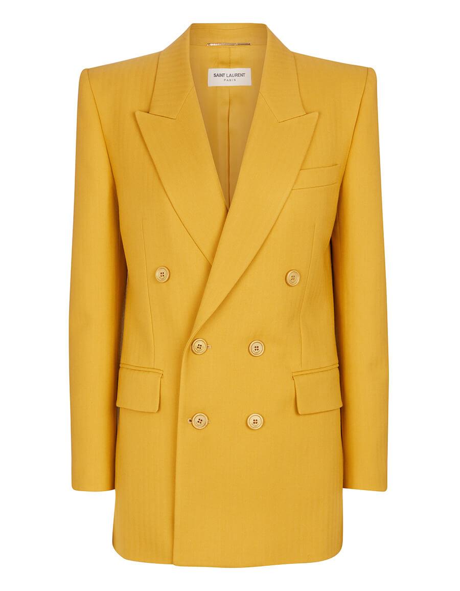 SAINT LAURENT Virgin wool blazer