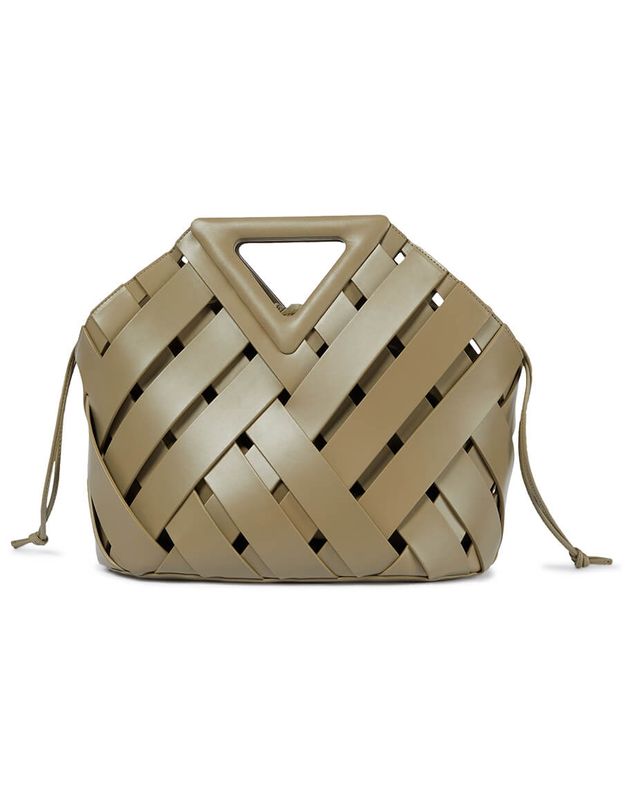 BOTTEGA VENETA Point Basket Medium leather tote