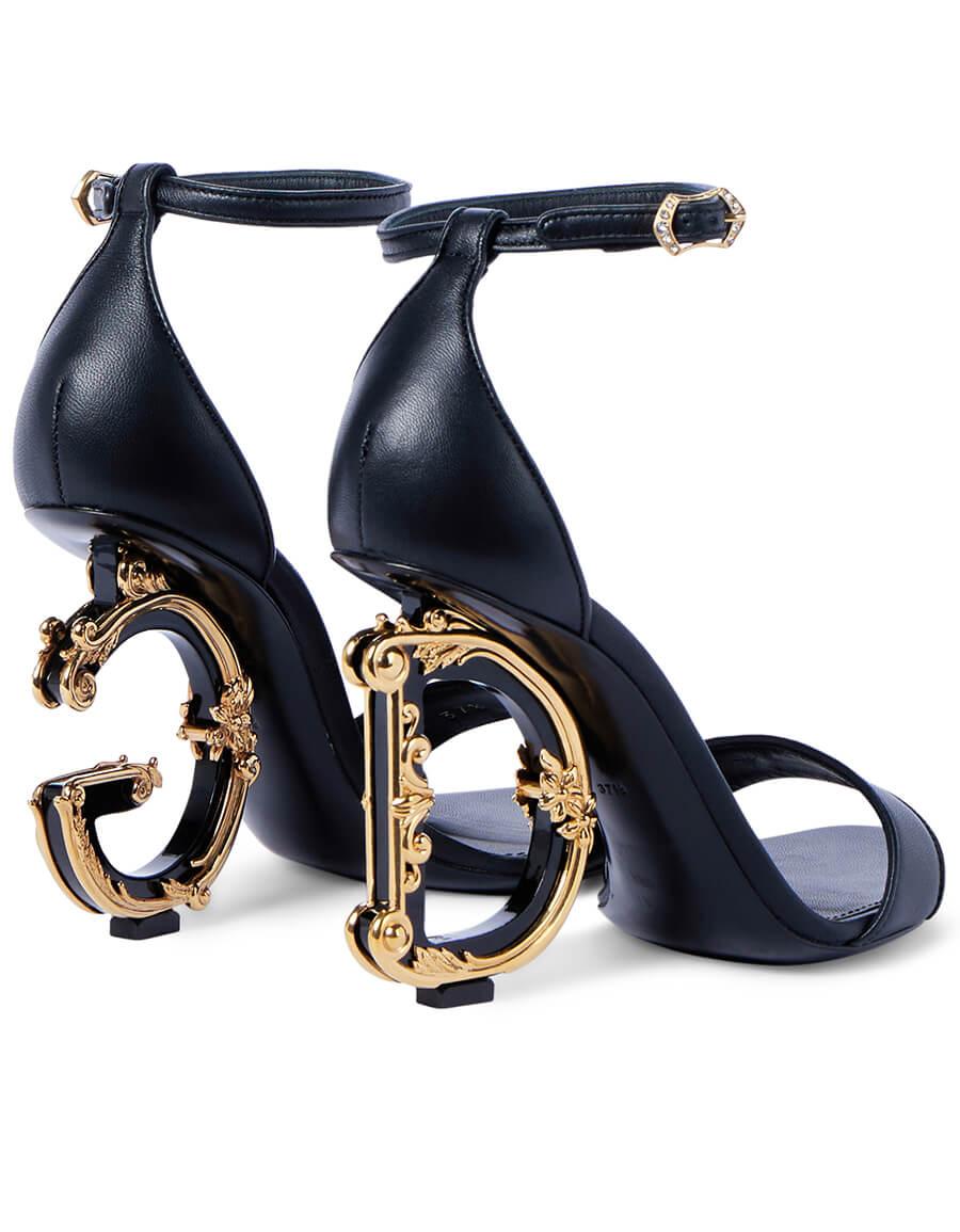 DOLCE & GABBANA Keira leather sandals