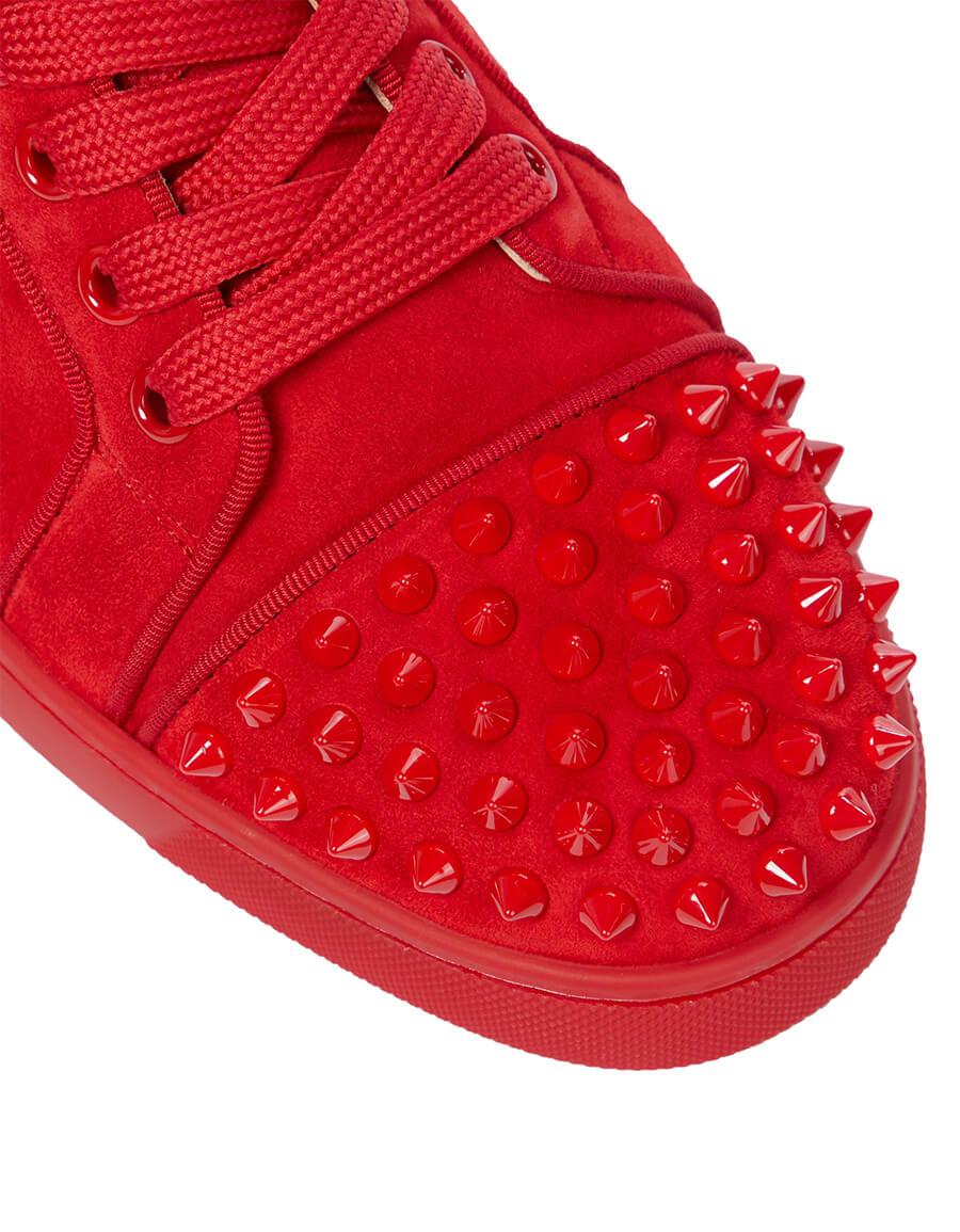 CHRISTIAN LOUBOUTIN Exclusive to Mytheresa – Vieira Spikes suede sneakers