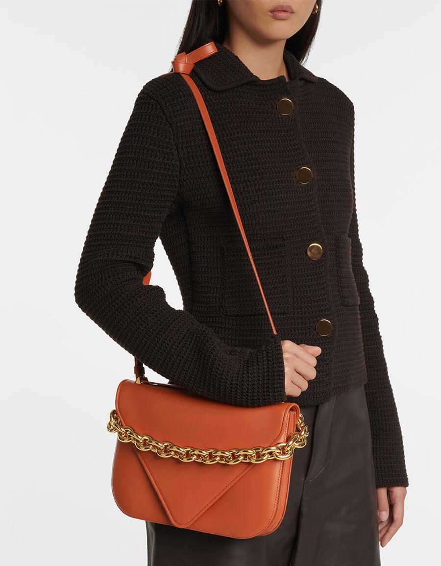 BOTTEGA VENETA Mount Medium leather shoulder bag
