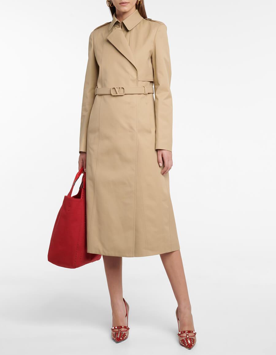 VALENTINO Gabardine trench coat
