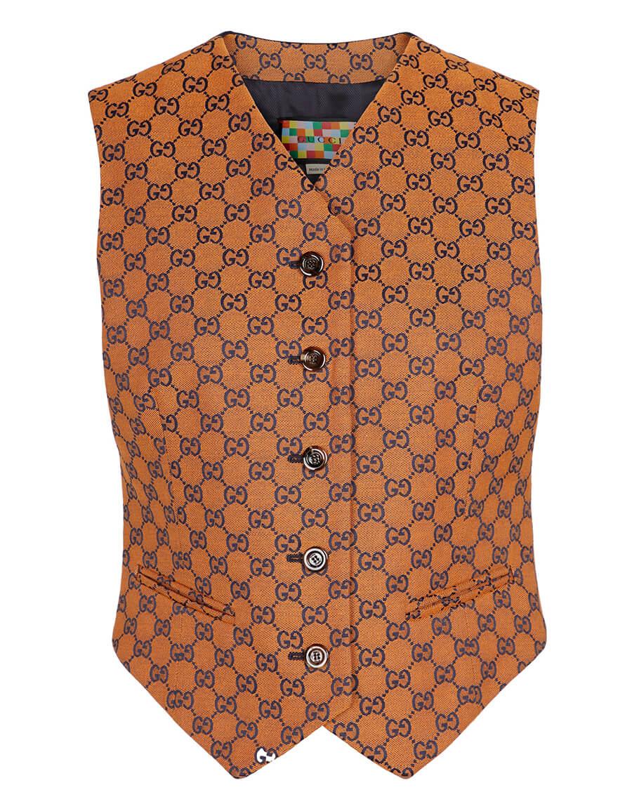 GUCCI GG Multicolor canvas vest