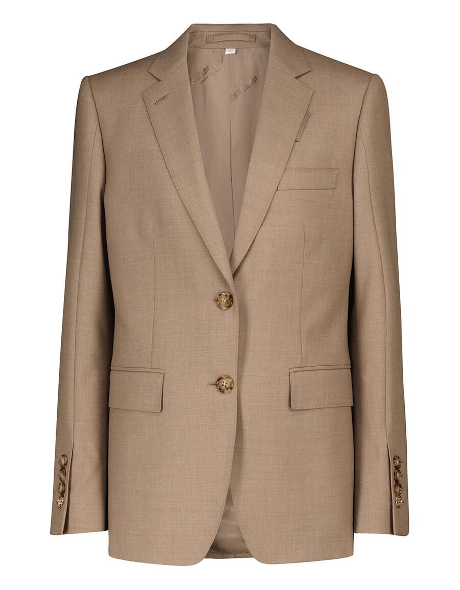 BURBERRY Virgin wool blazer
