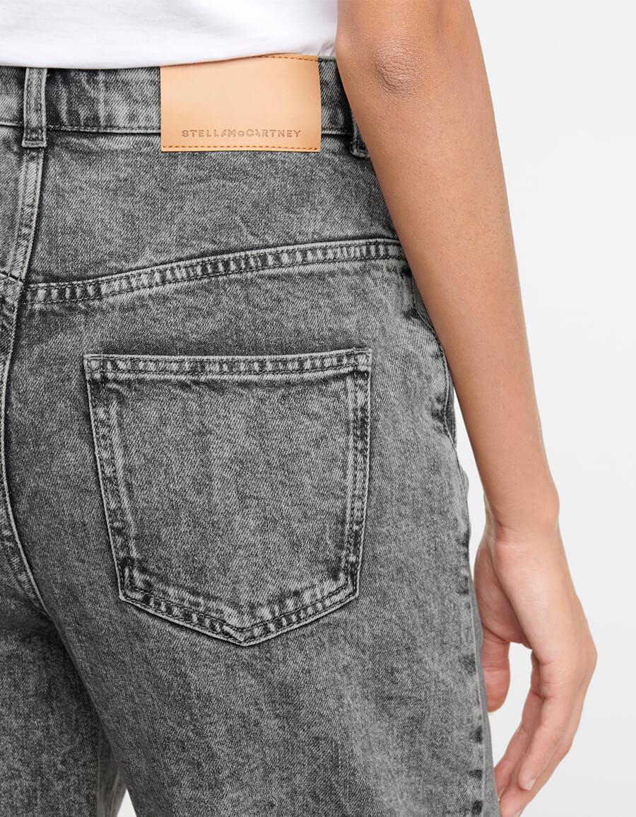 STELLA MCCARTNEY High rise wide leg jeans