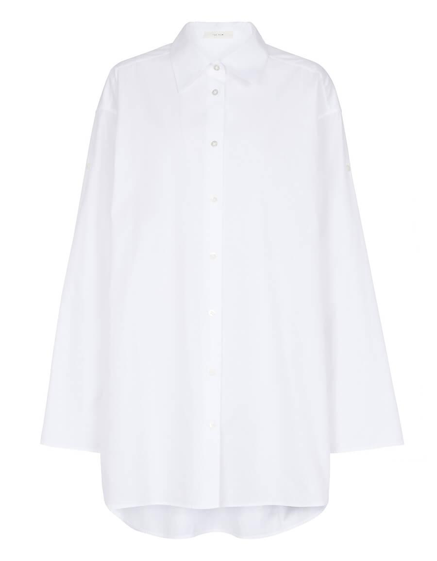 THE ROW Elden cotton poplin shirt