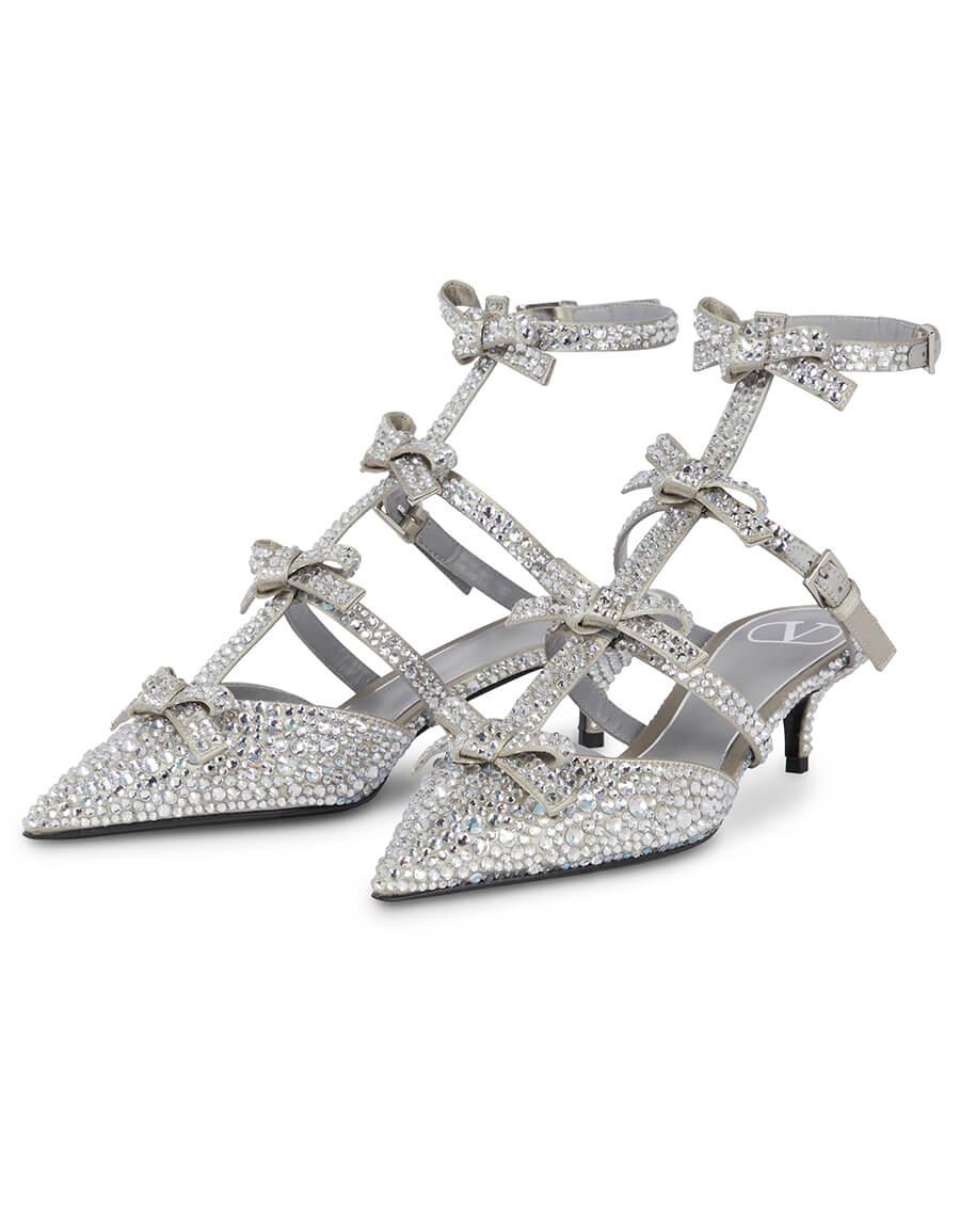 VALENTINO GARAVANI French Bows embellished pumps
