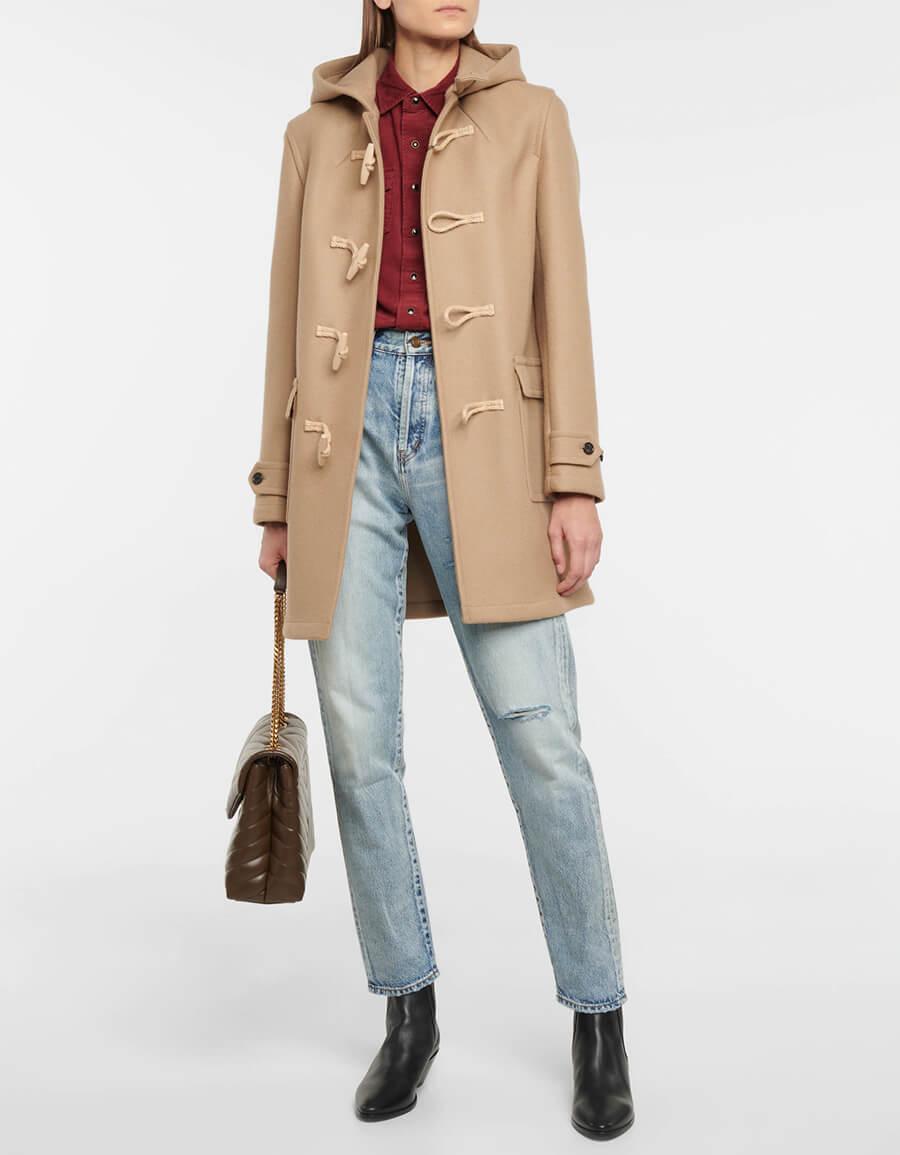SAINT LAURENT High rise slim jeans