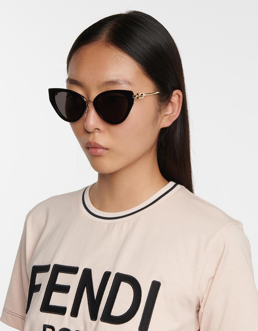 FENDI Baguette acetate sunglasses