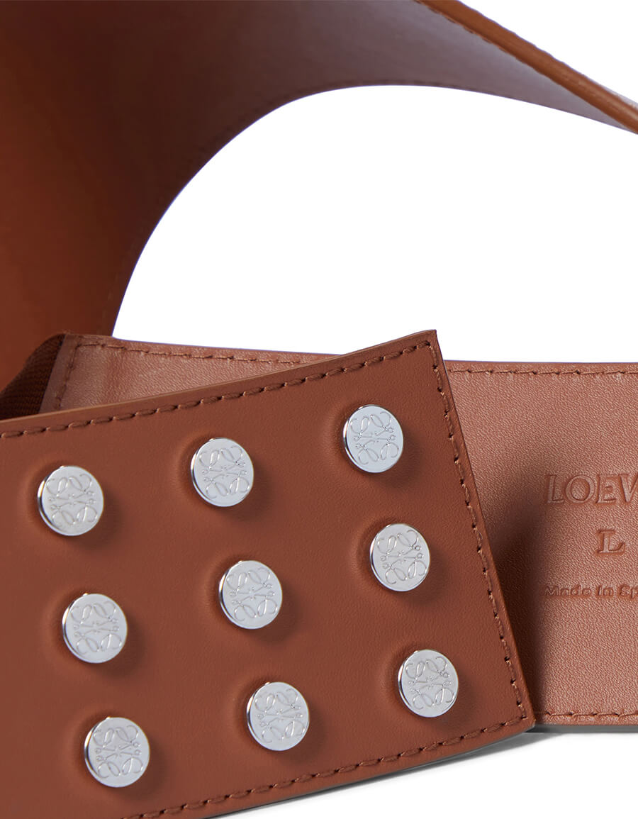 LOEWE Leather harness belt