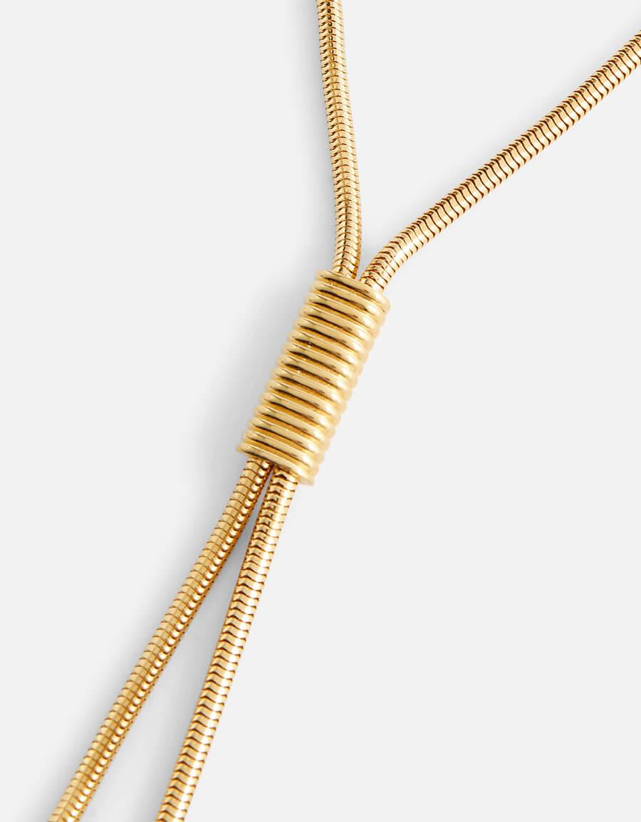SAINT LAURENT Tasseled necklace